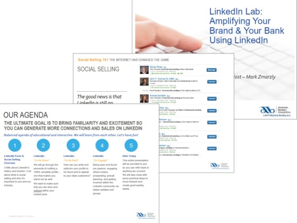 LInkedIn Sales Training for Banks - American Bankers Association